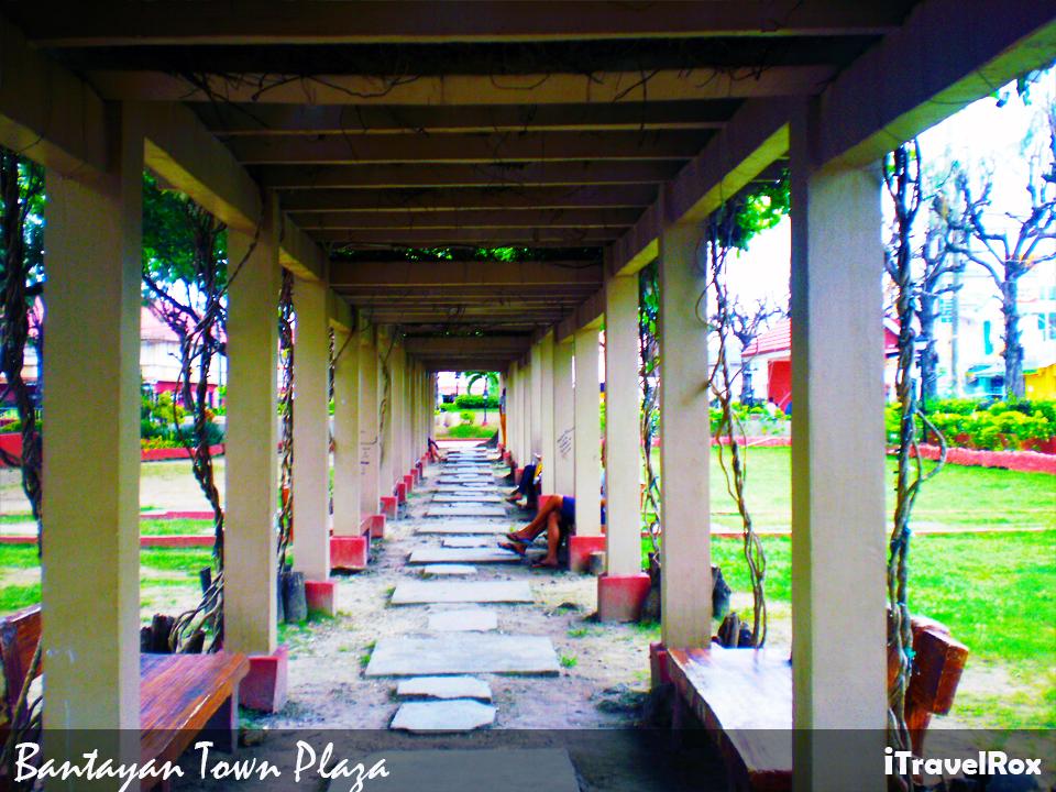 bantayan town plaza2