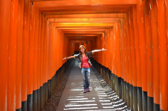 Me in Kyoto, Japan